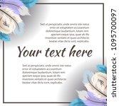 vector template in gentle...   Shutterstock .eps vector #1095700097
