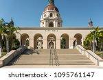 pasadena  california   usa  ... | Shutterstock . vector #1095761147