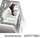 Fiscal Cliff - stock photo