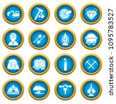 mining minerals business icons... | Shutterstock .eps vector #1095783527