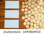 blank business card or name... | Shutterstock . vector #1095804923