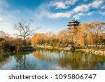 winter daming lake scenery | Shutterstock . vector #1095806747