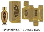 packaging design  label on... | Shutterstock .eps vector #1095871607