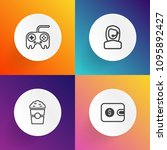 modern  simple vector icon set...   Shutterstock .eps vector #1095892427