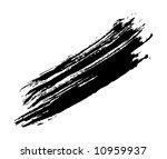 grungy brush stroke | Shutterstock .eps vector #10959937