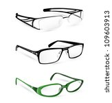 eye glasses and spectacles set... | Shutterstock .eps vector #109603913