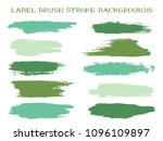 colorful label brush stroke... | Shutterstock .eps vector #1096109897