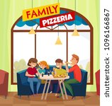 flat restaurant pub visitors... | Shutterstock .eps vector #1096166867