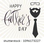 beautiful handwritten brush... | Shutterstock .eps vector #1096173227