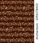 creative stave opera dark black ... | Shutterstock .eps vector #1096178423