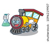 professor train character... | Shutterstock .eps vector #1096219907