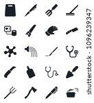 set of vector isolated black... | Shutterstock .eps vector #1096239347