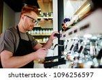 caucasian male professional... | Shutterstock . vector #1096256597