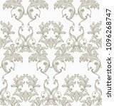 vintage baroque seamless... | Shutterstock .eps vector #1096268747