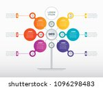 business presentation concept... | Shutterstock .eps vector #1096298483