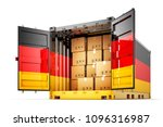 freight transportation from... | Shutterstock . vector #1096316987