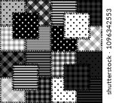 patchwork background with... | Shutterstock . vector #1096342553