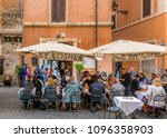 rome  italy   april 30  2018  ... | Shutterstock . vector #1096358903