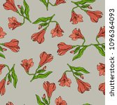 seamless pattern with pastel... | Shutterstock .eps vector #1096364093