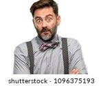 middle age man  with beard and... | Shutterstock . vector #1096375193