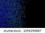 dark blue vector blurry... | Shutterstock .eps vector #1096398887