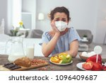 impossible choice. young upset...   Shutterstock . vector #1096409687