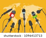 hot news  mass media concept.... | Shutterstock .eps vector #1096413713