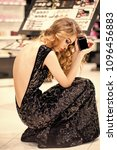 beauty fashion portrait. woman...   Shutterstock . vector #1096456883