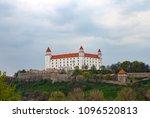 bratislava massive main castle... | Shutterstock . vector #1096520813