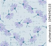 Trendy Floral Pattern With...