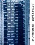 two skyscraper buildings as... | Shutterstock . vector #1096554197