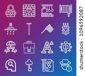 other icon set   outline... | Shutterstock .eps vector #1096592087