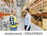 wholesale  logistic business...   Shutterstock . vector #1096599833