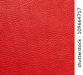 red leather texture - stock photo