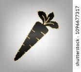 carrot sign illustration.... | Shutterstock .eps vector #1096677317
