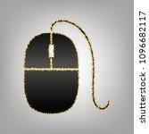 mouse sign illustration. vector.... | Shutterstock .eps vector #1096682117