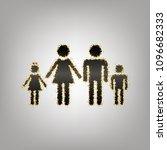 family sign illustration.... | Shutterstock .eps vector #1096682333