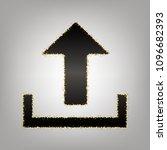 upload sign illustration.... | Shutterstock .eps vector #1096682393