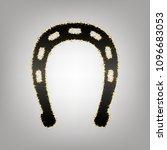 horseshoe sign illustration.... | Shutterstock .eps vector #1096683053