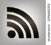 rss sign illustration. vector....   Shutterstock .eps vector #1096683203