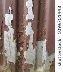 rusty surface of metal plate... | Shutterstock . vector #1096701443