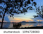 morning sea view colorful | Shutterstock . vector #1096728083