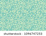 vines and ivy background with... | Shutterstock .eps vector #1096747253