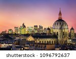 the saint augustin church and... | Shutterstock . vector #1096792637