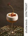 freshly vera cocktail on stand... | Shutterstock . vector #1096798187