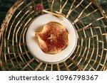 freshly vera cocktail on stand... | Shutterstock . vector #1096798367