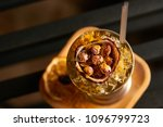 mariachi cocktail on bar table. ... | Shutterstock . vector #1096799723