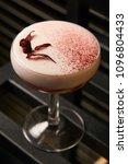 classical katana cocktail on... | Shutterstock . vector #1096804433