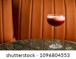 classical katana cocktail on... | Shutterstock . vector #1096804553