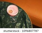 classical katana cocktail on... | Shutterstock . vector #1096807787